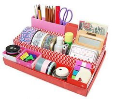 WMA DIY Cute Desktop Desk Table Organiser Storage Stationery Makeup Box In Box by WMA, http://www.amazon.co.uk/dp/B0080CGVP8/ref=cm_sw_r_pi_dp_DhTMqb0E0Y38Z