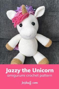 Jazzy the Unicorn Amigurumi Pattern