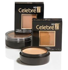 Celebre HD Pro beauty performance  foundation quality makeup Mehron face fashion #Mehron