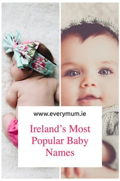 Whether you want to get baby names inspiration for your new arrival, or avoid the most popular baby names to make sure your little one won't be surrounded with children who share the same name, it's always great fun to discover the official list of the most (and least) common baby names #babynames #babyboynames #babygirlnames #irishbabynames #popularirishbabynames Celtic Baby Names, Irish Baby Names, Baby Girl Names, Vintage Baby Names, Unique Baby Names, Celebrity Baby Names, Celebrity Babies, Name Inspiration, Popular Baby Names