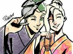 Genji and Mercy