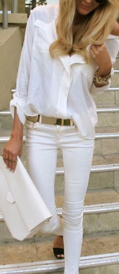 All White Style