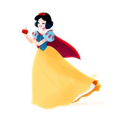 Snow White - disney-females Fan Art