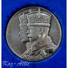 King George V. 1911 Silver Coronation Medal 31 mm. In Original Box. Listing in the Commemorative,United Kingdom,Coins,Coins & Banknotes Category on eBid United Kingdom   144352941
