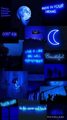 Cute Blue Wallpaper, Blue Background Wallpapers, Purple Wallpaper Iphone, Iphone Wallpaper Tumblr Aesthetic, Black Aesthetic Wallpaper, Cute Wallpaper Backgrounds, Blue Wallpapers, Pretty Wallpapers, Galaxy Wallpaper