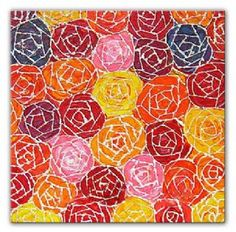 ROSES MOSAIC modern abstract painting, fully hand painted abstract canvas artwork framed gallery-wrap style and ready to hang with Free Delivery and fully guaranteed Modern Canvas Art, Canvas Wall Art, Canvas Paintings, Abstract Canvas, Best Canvas Prints, Rose Bouquet, Artsy, Hand Painted, Nursery Ideas