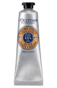 L'Occitane Shea Butter Foot Cream available at #Nordstrom
