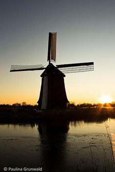 Sunset in Alkmaar, Netherlands