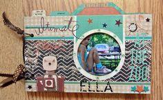 Ella at the zoo - Scrapbook.com