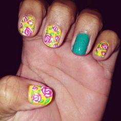 Inspired by Betsey #nail #art #nailart