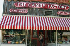 vintage candy stores | Great old fashioned candy store that made their own candy