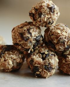 Dark Chocolate Trail Mix Balls. I'm putting this under Sweet, but it's really healthy with oats and quinoa and protein powder. Seems to me this would be a good meal/snack for kids on nights they have to participate in sports events and there's no time for supper.
