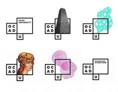 bruce mau design: new OCAD identity — Designspiration