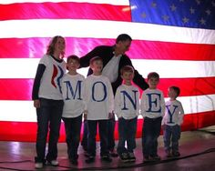 Mitt Romney's family misspell their last name in the greatest Freudian slip in history. Hahahahaha