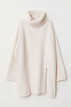 H&M Wool-blend Turtleneck Sweater - White Outfits For Teens, Casual Outfits, Cute Outfits, Fashion Outfits, Mode Pastel, Clothing Photography, Mode Hijab, Kawaii Clothes, Preppy Style
