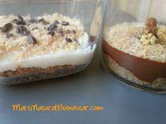 Galleta de avena con crema de chocolate o nata de coco