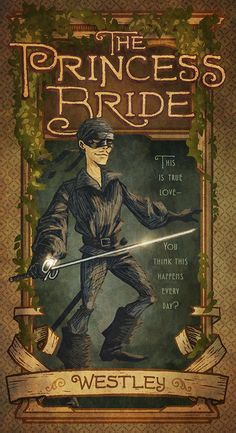 The Princess Bride: Westley by IngvardtheTerrible