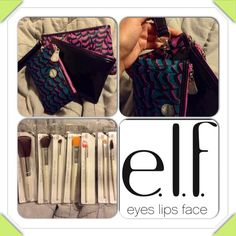 "Selling this ""Set of 3 Makeup Travel Bags & 7 E.L.F. Brushes"" in my Poshmark closet! My username is: melissanbravo. #shopmycloset #poshmark #fashion #shopping #style #forsale #Accessories"