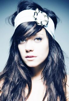 Lily Allen. I wish someone would have told me sooner that I'd love her music which is perfectly clever and fun!