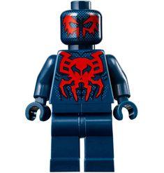 ⎡CRAZY MINIFIGS⎦Custom Blue Spider-Man Lego Minifigure