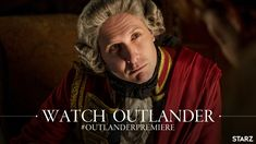 Tonight's the Season 4 E/P It's also the first appearance of me, the Governor! Pretty special thing to be a part of. Out in the UK tomorrow on Outlander Premiere, Watch Outlander, Outlander News, Outlander Season 4, Scottish Warrior, Drums Of Autumn, All Episodes, Jamie Fraser, Novels