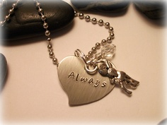 """Harry Potter """"Always"""" - Snape and Lily Necklace - hand stamped Harry Potter Outfits, Harry Potter Love, Snape And Lily, Girly Things, Girly Stuff, Random Stuff, Star Wars Outfits, Beautiful Love Stories, Nerd Love"""