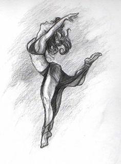 contemporary dance draw - Buscar con Google