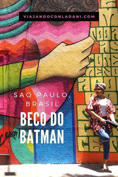 Esta calle es hermosa, un callejón de #graffitis que van cambiando cada cierto tiempo. Sin duda, de mis lugares favoritos de Sao Paulo. En mi blog te cuento mas de este lugar. #saopaulo #brasil #brazil #streetart #art #travelblogger #viajes #viajandoconladani Baseball Cards, Blog, South America, Street Graffiti, Destinations, Murals, Street, Board, Sweetie Belle