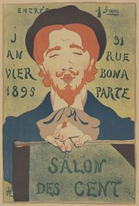 Hermann-Paul (1864-1940), poster for Salon des Cent, 1895, Van Gogh Museum Amsterdam