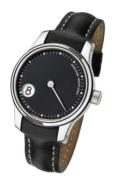 Fortis F-43 Jumping Hour Black