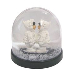 Boule de cristal 3D D/écorations en verre quatre saisons pour bureau Amies Boule de verre en verre Boule de verre Photographie