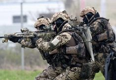 "German commando frogmenGermany's postwar commando frogman force are called the Kampfschwimmer (""Combat Swimmers"") or Verwendungsgruppe 3402 (Usage Group They are the only special-purpose force."