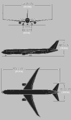 Boeing's 767-400ER is a stretched development of the popular 767-300ER, designed to replace early A300, A310 and 767 twins used on transcontinental services and DC-10-30s and L-1011 trijets used for intercontinental work. It competes with the A330-200. The most significant change with the 767-300 is the 6.4m (21ft) fuselage stretch, which increases typical three class seating capacity from 218 to 245. The 767-400ER's wing features 2.34m long raked wingtips which improve aerodynamic…