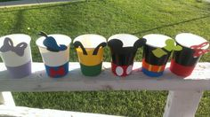 Mickey Mouse & Friends Party Cups by MagicalBoutique on Etsy, $8.00  https://www.etsy.com/listing/127485277/mickey-mouse-friends-party-cups?ref=shop_home_active