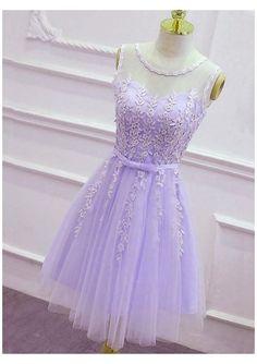 Lavender Dress Formal, Lavender Homecoming Dress, Light Purple Prom Dress, Pastel Purple Dress, Purple Party Dress, Lavender Dresses, Purple Flower Girl Dresses, Dama Dresses, Hoco Dresses