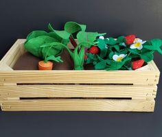 Plantable Felt Garden Box by LittleBeastiesShop on Etsy