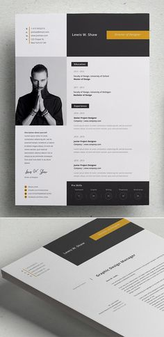 30 Professional CV / Resume Templates with Cover Letters - Resume Template Ideas of Resume Template - Delta Resume Template Cv Template Word, Simple Resume Template, Resume Design Template, Creative Resume Templates, Creative Resume Design, Best Cv Template, Cover Letter Design, Cover Letter For Resume, Cover Letters