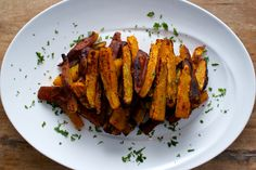 Chipotle spiced sweet potato oven fries