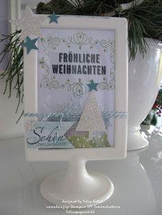 Tischaufsteller Weihnachten