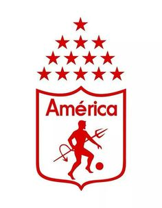 Escudo América de Cali Colombia Football, Cali Colombia, Soccer World, Sports Clubs, Football Soccer, Bumper Stickers, American Football, Creative Art, Branding Design