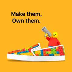 Nostros ponemos el canvas tú el arte!  __ #bustom #bustomshoes #zapatillaspersonalizadas #makethemownthem #zapatillas #moda #zapatos #deportivas #customshoes #lego #personalización #custom #calzado #diseño #arte