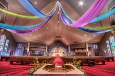 easter church decorations | saint agnes easter 11 19