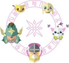 Digimon: Crest of Light by Sindor
