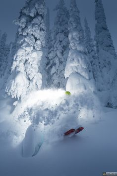 Atomic Powder by Geoff Holman on 500px-Wish I had this kind of blower pow at Brundage this past January. I missed the good sh** in Feb and Mar