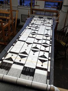 little fool.(a small business romance) Weaving Textiles, Weaving Art, Weaving Patterns, Loom Weaving, Quilt Patterns, Hand Weaving, Painted Warp, Tapestry Loom, Risky Business