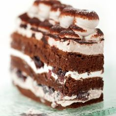 Marshmallow Chocolate Cake Recipe