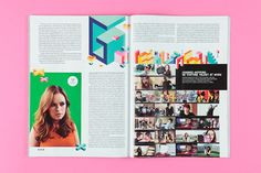 Wired Magazine, typography by Kate Moross, feature on YouTube talent
