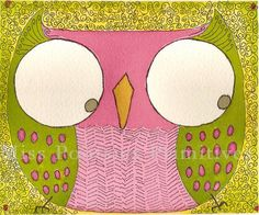 'Olivia Owl' by Penny King