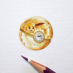 Tiny Paintings That I Create With Watercolor