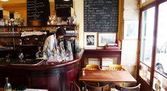 Le Baratin, Belleville Paris. Simple rustic cooking, popular with chefs
